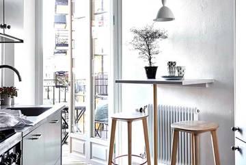 Những mẫu bàn ăn đẹp cho nhà chật