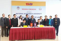 ĐH Kinh tế quốc dân hợp tác đào tạo Thạc sĩ với ĐH Quốc gia Lào