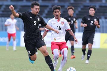 Thua U21 Myanmar, U21 Thái Lan trắng tay ở giải U21 Quốc tế