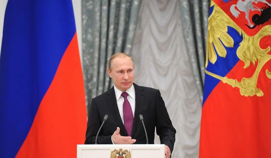 Truyện ngụ ngôn về con chuột và nước Nga thời Putin