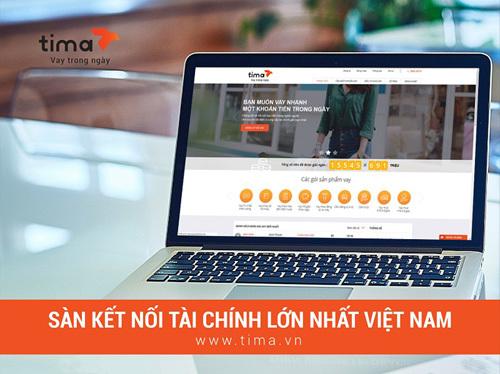 Ra mắt sàn kết nối tài chính Tima