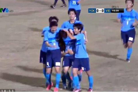 U21 Việt Nam 0-1 U21 Yokohama: Bàn thắng mở tỷ số phút 17