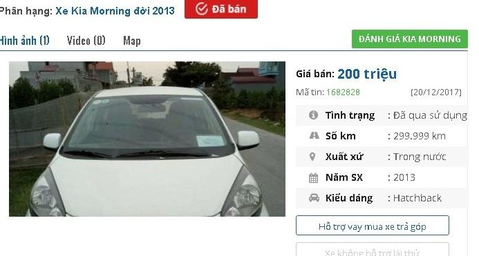 Với 200 triệu đồng, mua được ô tô cũ chính hãng nào?