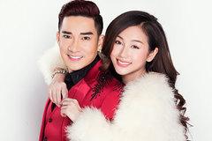 Quang Hà và DJ Quỳnh Nhi tung hình ảnh tình tứ dịp Giáng sinh