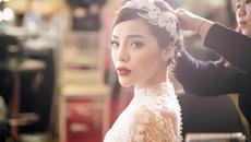 Kỳ Duyên hóa cô dâu, diện váy cưới 3 tỷ gây chú ý
