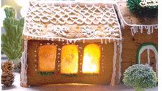 'Thánh ăn công sở' trổ tài làm vườn giáng sinh chỉ bằng bánh, kẹo