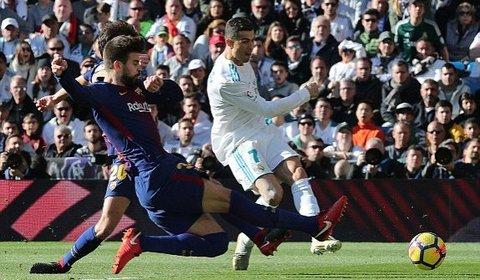 Real Madrid 0-0 Barcelona: Ronaldo phút 32