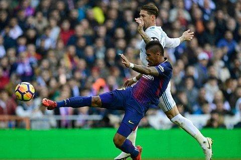 Real Madrid 0-0 Barcelona: Paulinho phút 30