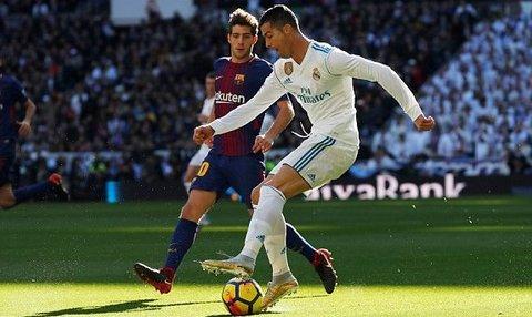 Real Madrid 0-0 Barcelona: Ronaldo ghi bàn việt vị