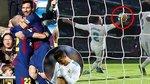 Chiếu lại cảnh Messi và các đồng đội kéo sập pháo đài Bernabeu