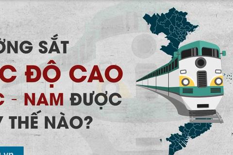 Đường sắt tốc độ cao khác gì đường sắt Bắc - Nam?