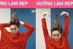 Hoa hậu Kỳ Duyên biến hóa tóc theo trend cây thông Noel sành điệu