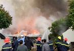 Cháy lớn tại nhà máy bánh kẹo ở Thanh Hóa