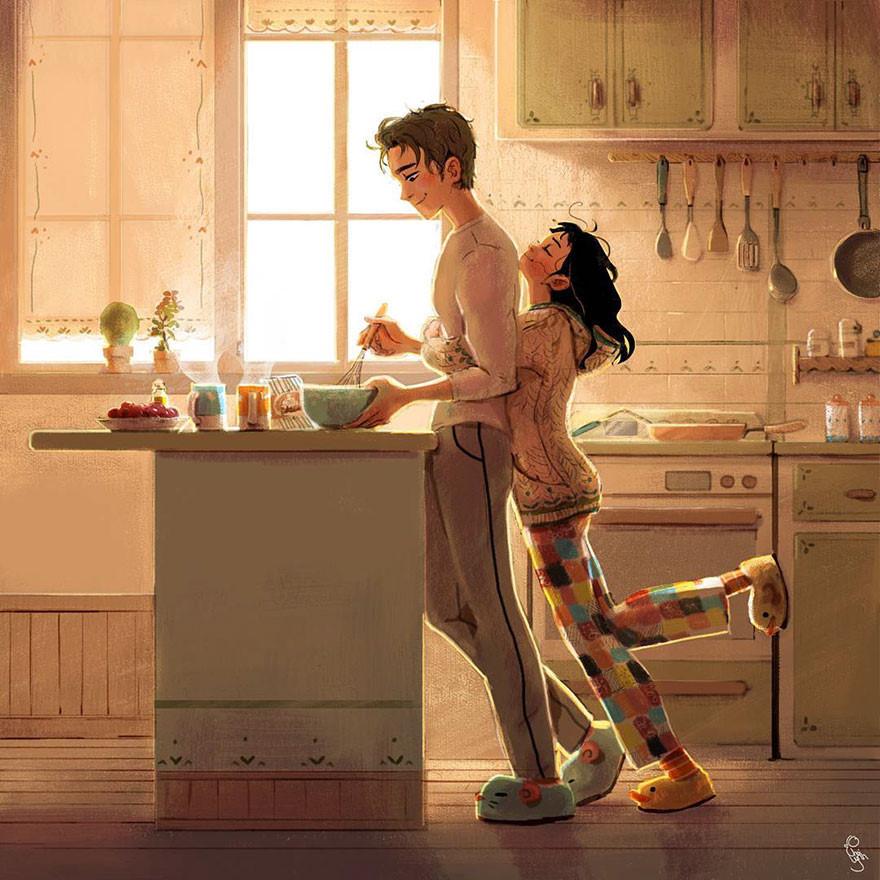 Chỉ cần được ở bên anh, đó là hạnh phúc!