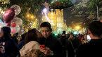 Hình ảnh tình tứ của giới trẻ Hà thành trong đêm Noel