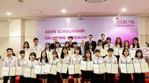 60 học bổng AEON Mall dành cho sinh viên TP.HCM
