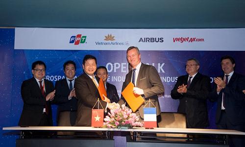 FPT 'bay' cùng Airbus trên nền tảng Skywise