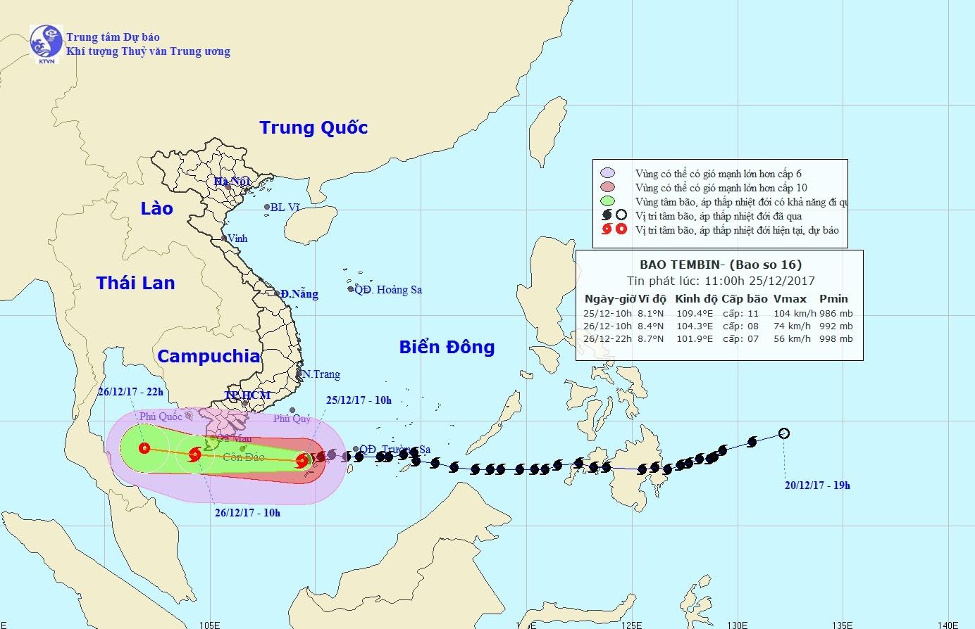 Đối phó bão số 16, Tây Nam Bộ di dời dân trong mưa