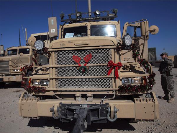 Xem lính Mỹ đón Giáng sinh ở vùng chiến