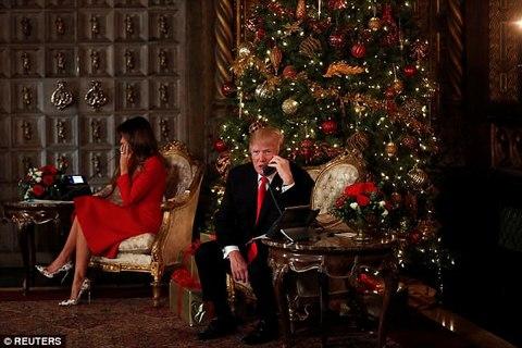 Trump gọi điện thoại