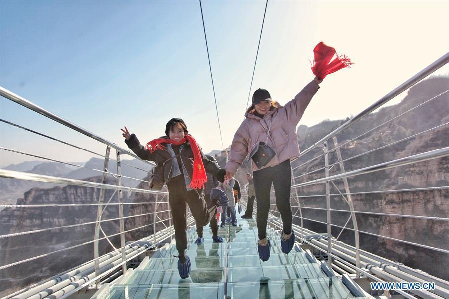 cầu kính,cầu đáy kính,cầu treo,Trung Quốc