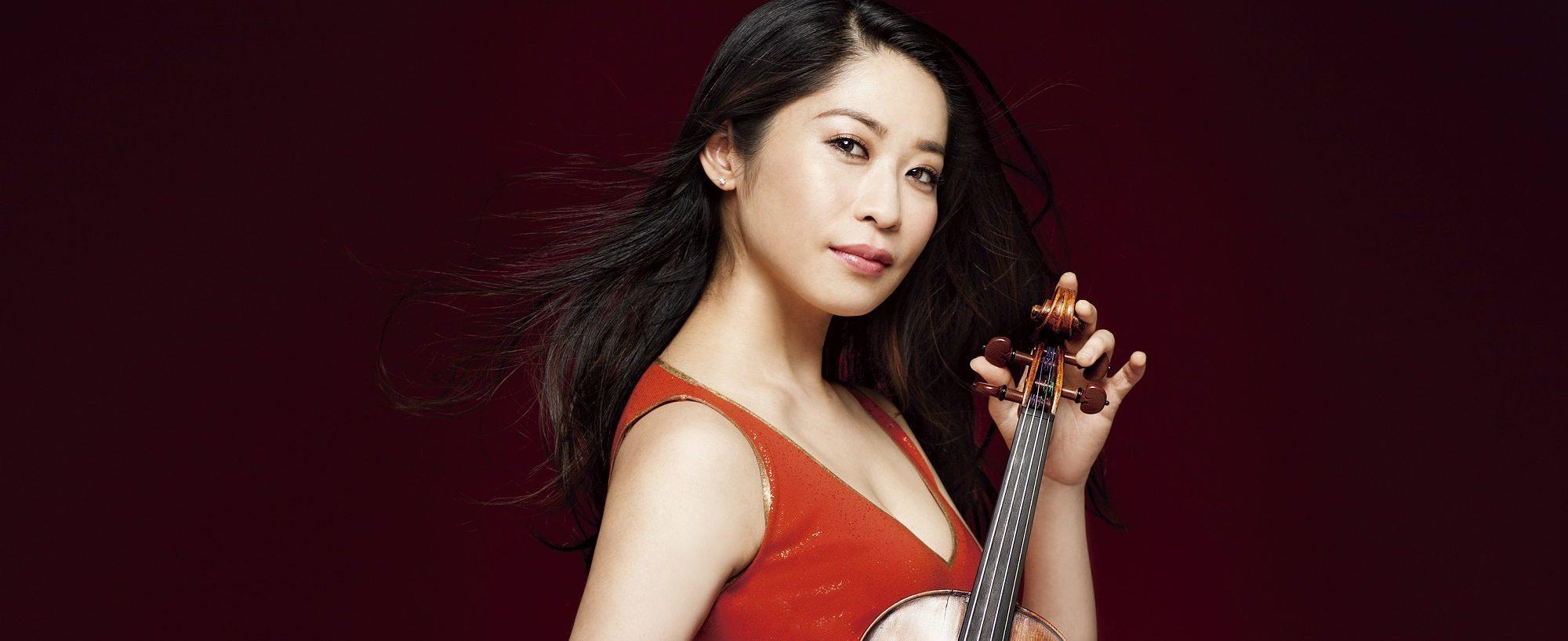 Nghệ sĩ violin Tamaki Kawakubo tham gia Hòa nhạc Hạnh phúc