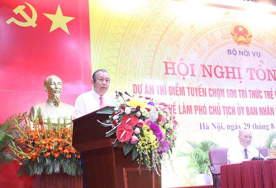 Tăng cường tri thức trẻ ưu tú về làm Phó Chủ tịch UBND xã 64 huyện nghèo