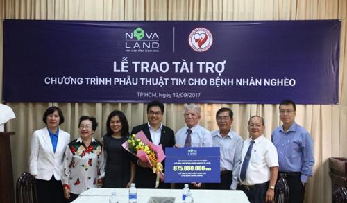 2017 - năm tất bật các hoạt động thiện nguyện của Novaland