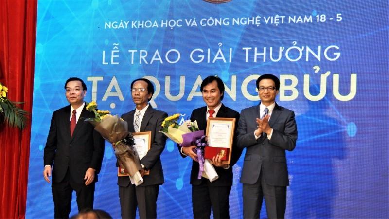 giải thưởng tạ quang bửu,khoa học công nghệ