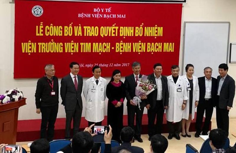 Bổ nhiệm Viện trưởng Viện Tim mạch