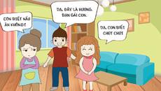 Hài hước truyện tranh huyền thoại mẹ chồng - nàng dâu