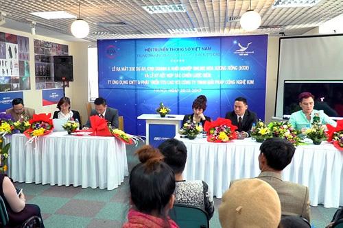 Ra mắt 300 dự án kinh doanh hỗ trợ người Việt