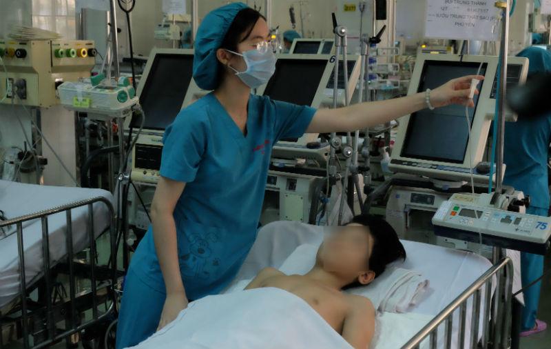 khối u,bệnh viện nhi đồng 1,bệnh nhi