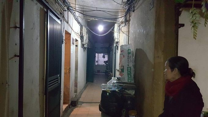 Tập thể cũ,Tập thể thuốc lá Thăng Long,Hà Nội