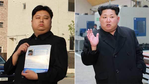 Người giống Kim Jong Un như 'anh em sinh đôi'