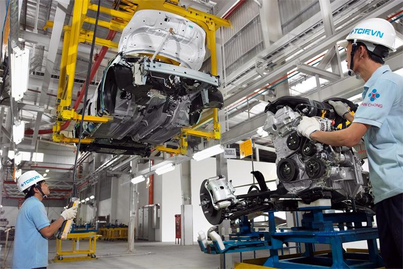 Sản xuất lắp ráp ô tô,công nghiệp ô tô,ô tô Việt Nam,Trường Hải,Vinfast,Hyundai,Thành Công