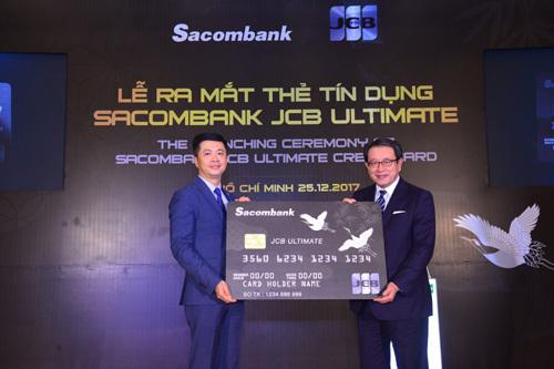 Sacombank ra mắt dòng thẻ JCB cao cấp nhất tại Việt Nam
