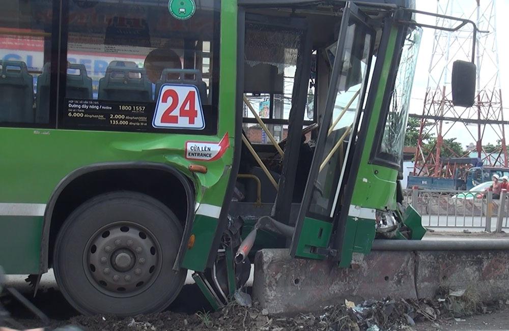 tai nạn,tai nạn xe buýt,Sài Gòn
