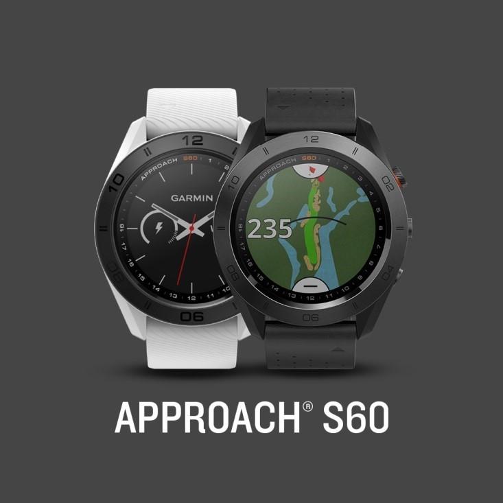 Approach S60- đồng hồ hỗ trợ chơi golf sành điệu