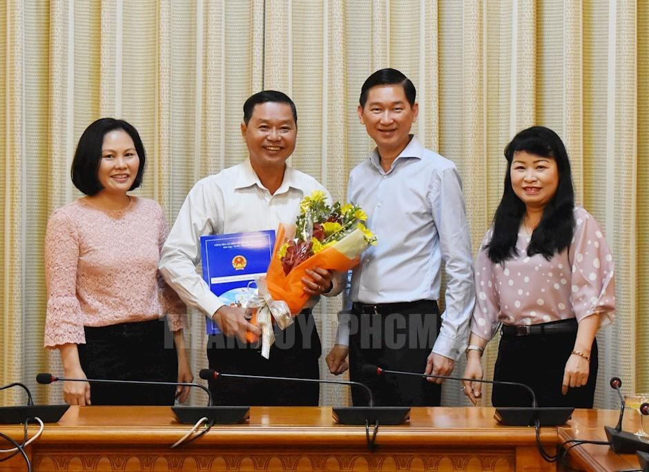 Nhân sự mới TP.HCM, Hà Nội, Tây Ninh, Nghệ An, Thái Bình