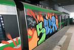 Tàu đường sắt bị vẽ bẩn: Đề nghị tổng thầu Trung Quốc báo cáo