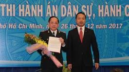 Cục Thi hành án dân sự TP.HCM có Cục trưởng mới