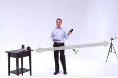 Smartphone có thể sạc không dây từ xa, không cần tiếp xúc