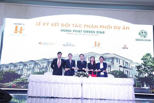 CENLAND Miền Nam phân phối Hưng Phát Green Star