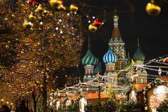 'Mãn nhãn' cảnh trang hoàng đón năm mới ở Thủ đô nước Nga