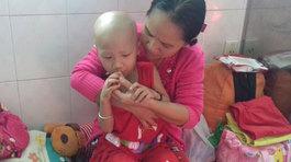 Chồng chết, con ung thư, người mẹ trẻ cầu cứu