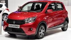 Suzuki Celerio về Việt Nam bất ngờ vọt tăng lên 359 triệu đồng