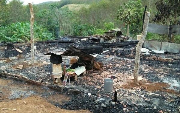 hỏa hoạn,cháy nhà,hai anh em thương vong do cháy,Tuy Đức,Đắk Nông