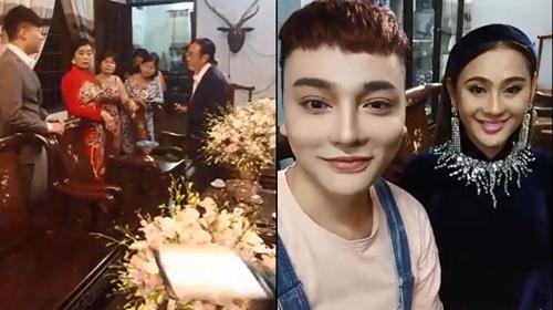 Toàn cảnh lễ ăn hỏi của ca sĩ Lâm Khánh Chi