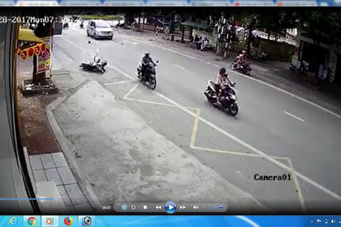 clip tai nạn giao thông 1